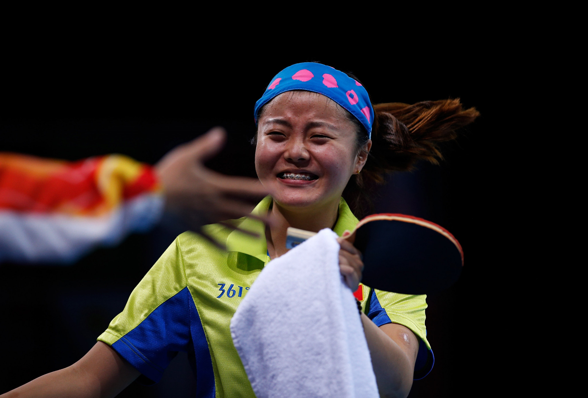 Mao Jingdian did not drop a game across her three matches ©Getty images