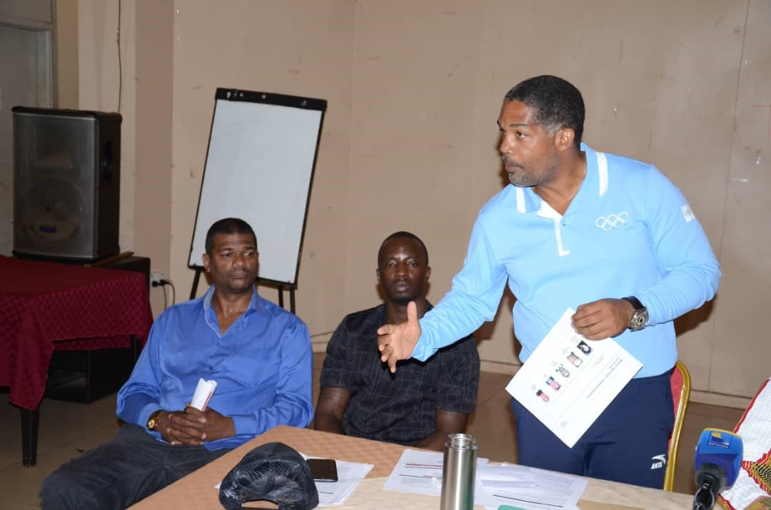 The Uganda Olympic Committee held an information meeting on boxing at Tokyo 2020 ©UOC