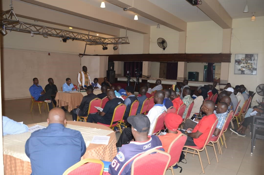 The meeting was held to inform the boxing fraternity in Uganda of the steps taken by the IOC and the impact it has on them ©UOC