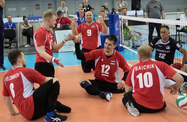 Russia sweep men's and women's European sitting volleyball titles in Budapest