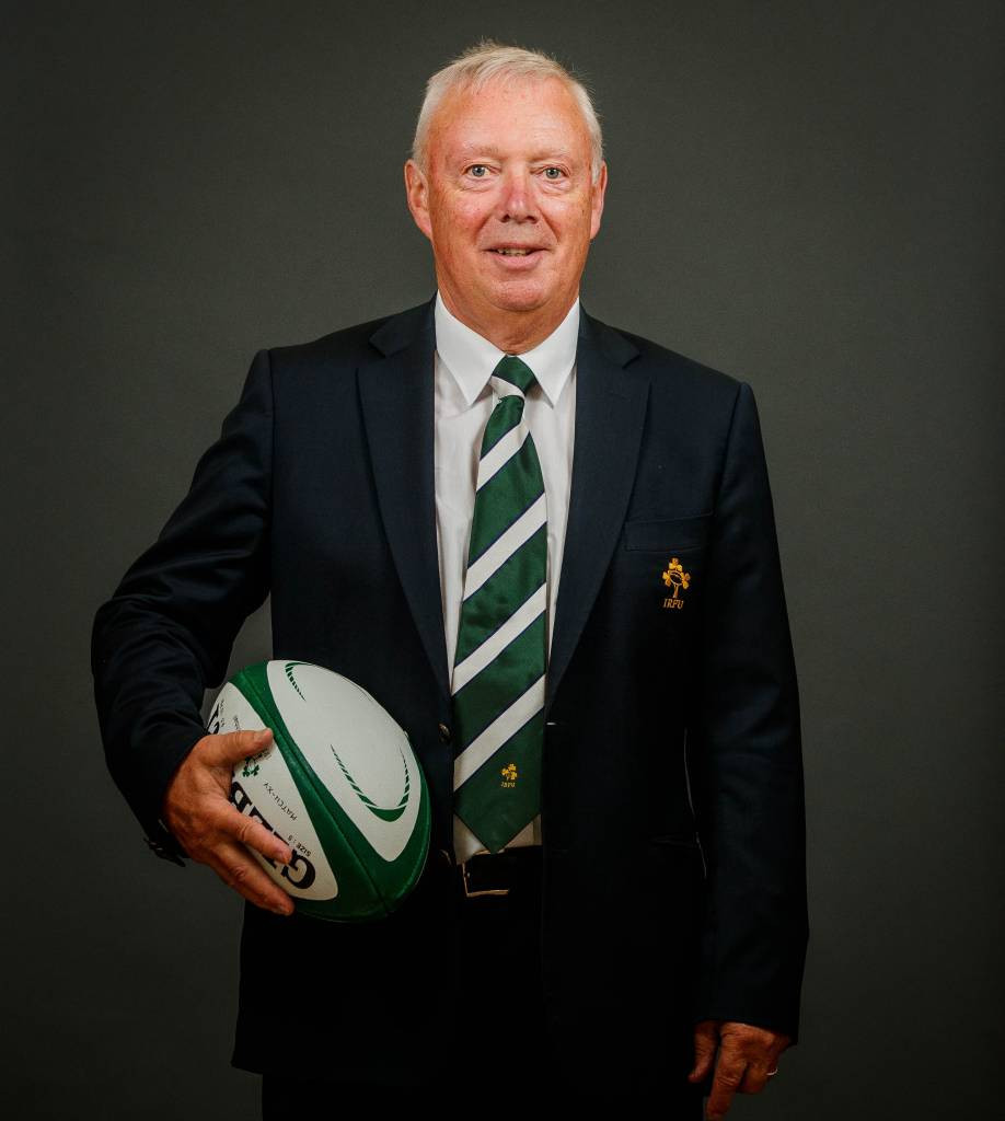 Comyn takes over as Irish Rugby President as €1.8 million revenue increase is reported