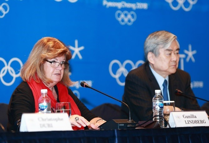 The petition comes after IOC Coordination Commission chair Gunilla Lindberg praised organisers for