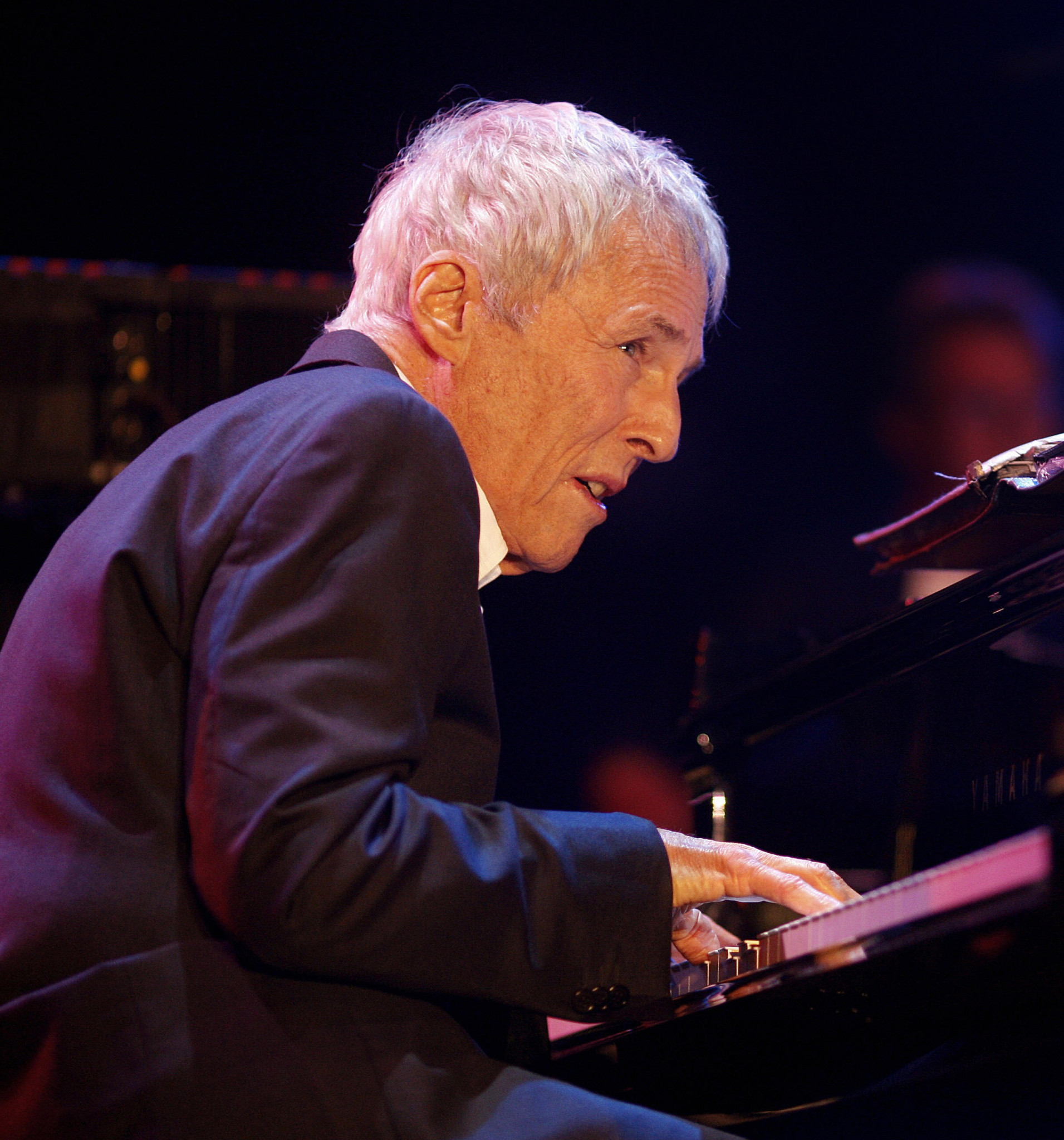 Luckily, Burt Bacharach was on hand in California to tell Alan Hubbard the way to San Jose ©Getty Images