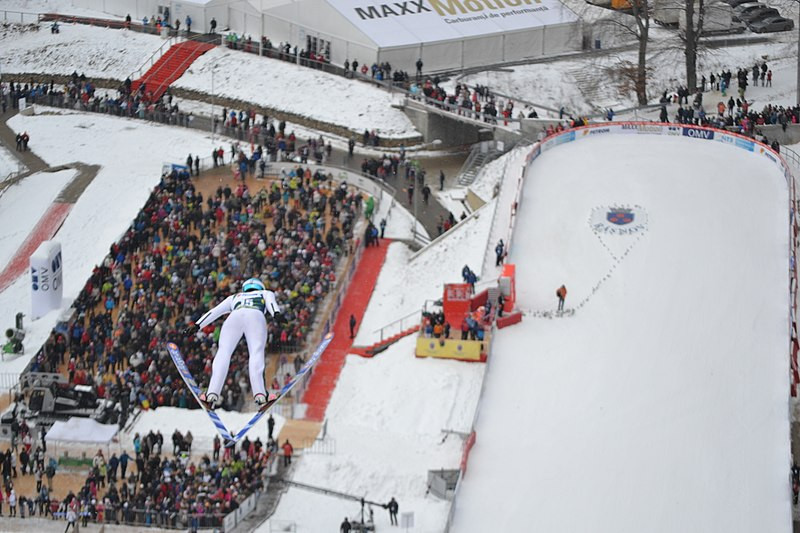 Râșnov has hosted FIS Women's Ski Jumping World Cup events, but never a competition in the men's tournament ©Wikipedia