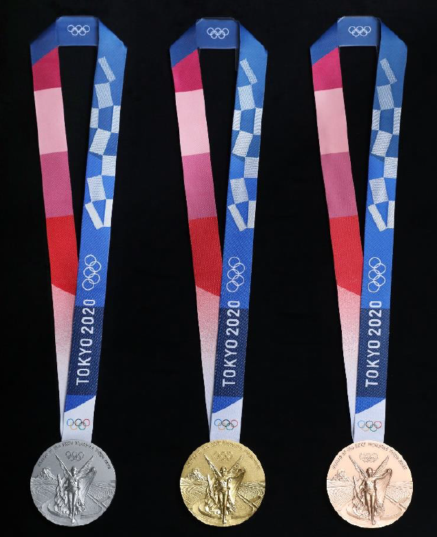 Pyeongchang 2020 Olympic Winter Games Medals By Country.Tokyo 2020 Olympic Medal Designs Unveiled With One Year To Go