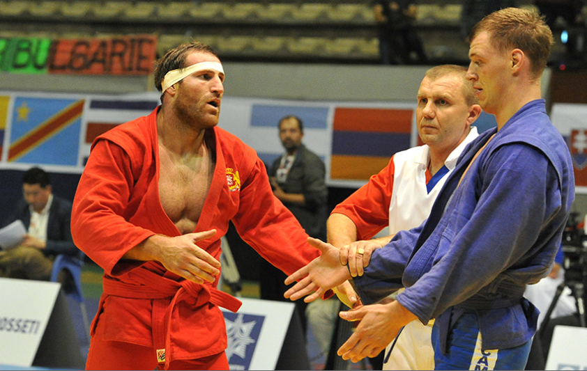 Georgian claims men's 100kg crown at World Sambo Championships