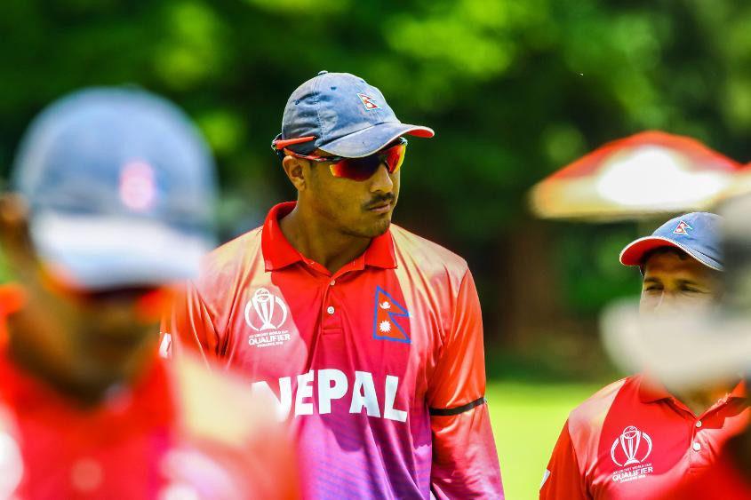 Nepal are off and running with their first victory ©ICC