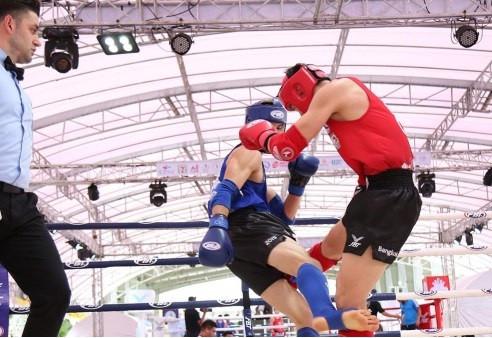 World champion Vienot earns quarter-final berth at IFMA World Championships