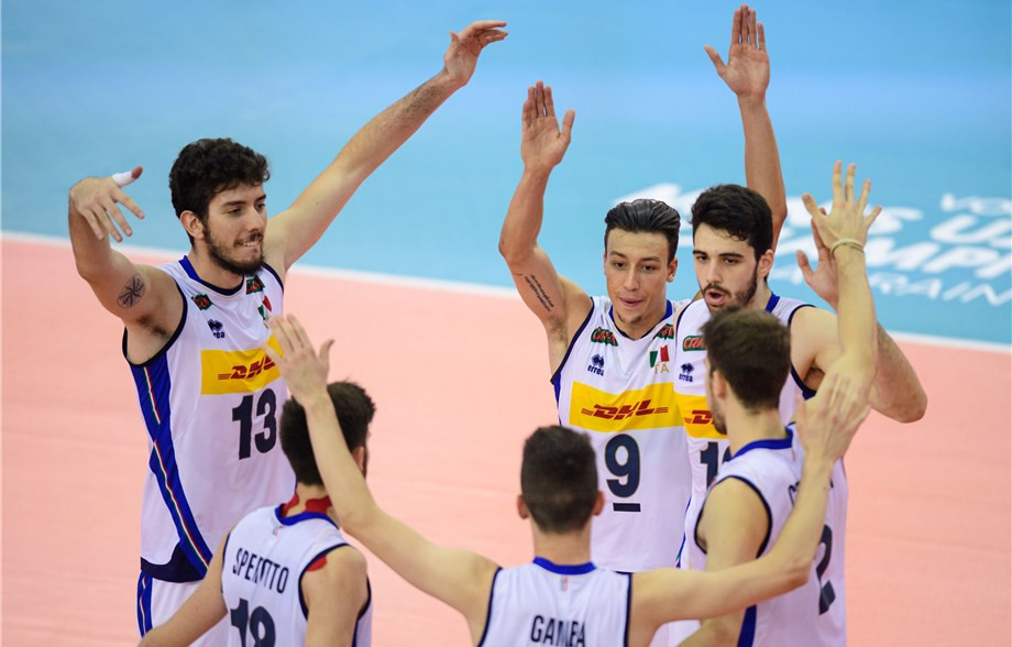 Italy kept their 100 per cent record intact as they reached the last four ©FIVB