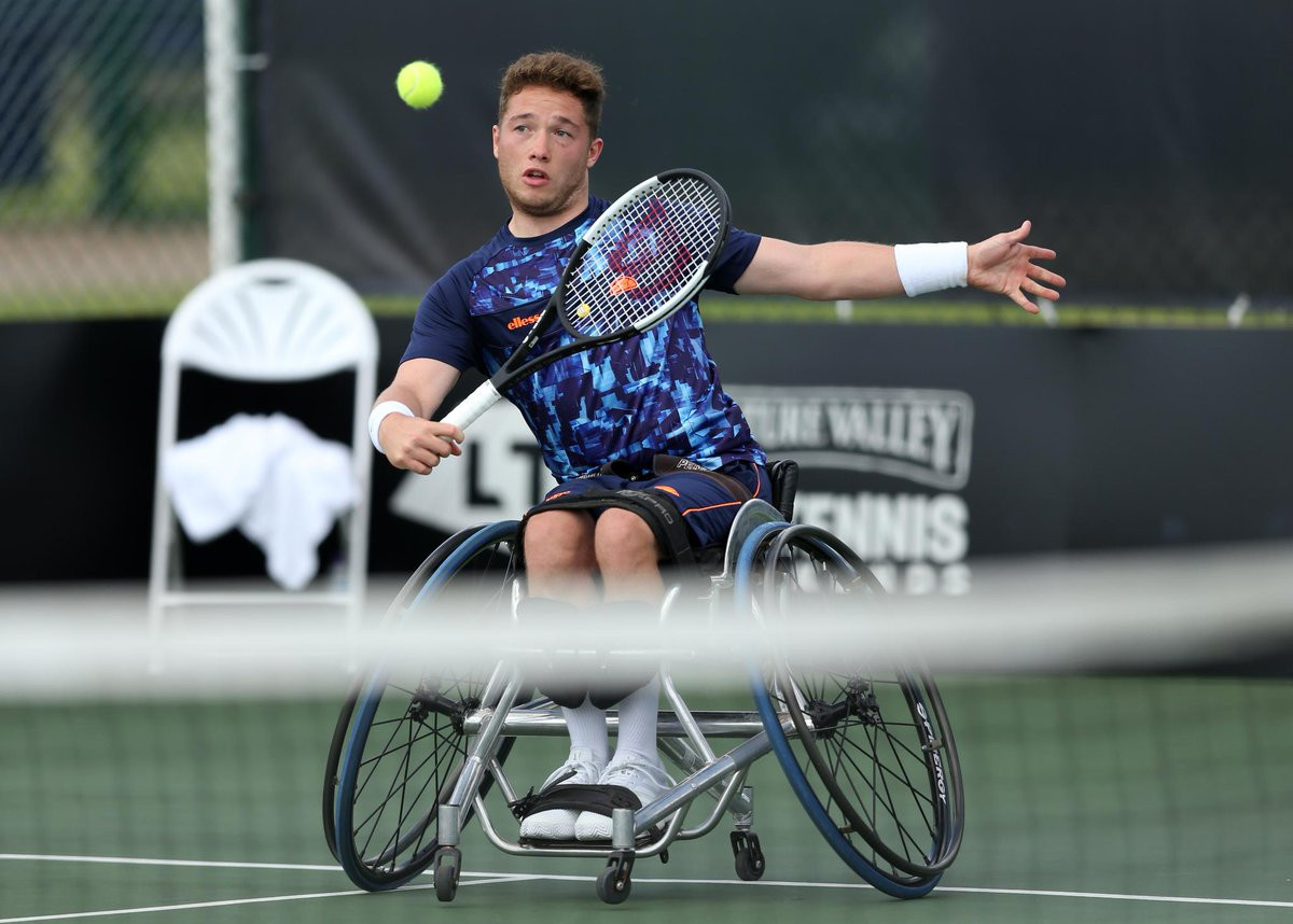 Fourth seed Hewett out of British Open Wheelchair Tennis Championships