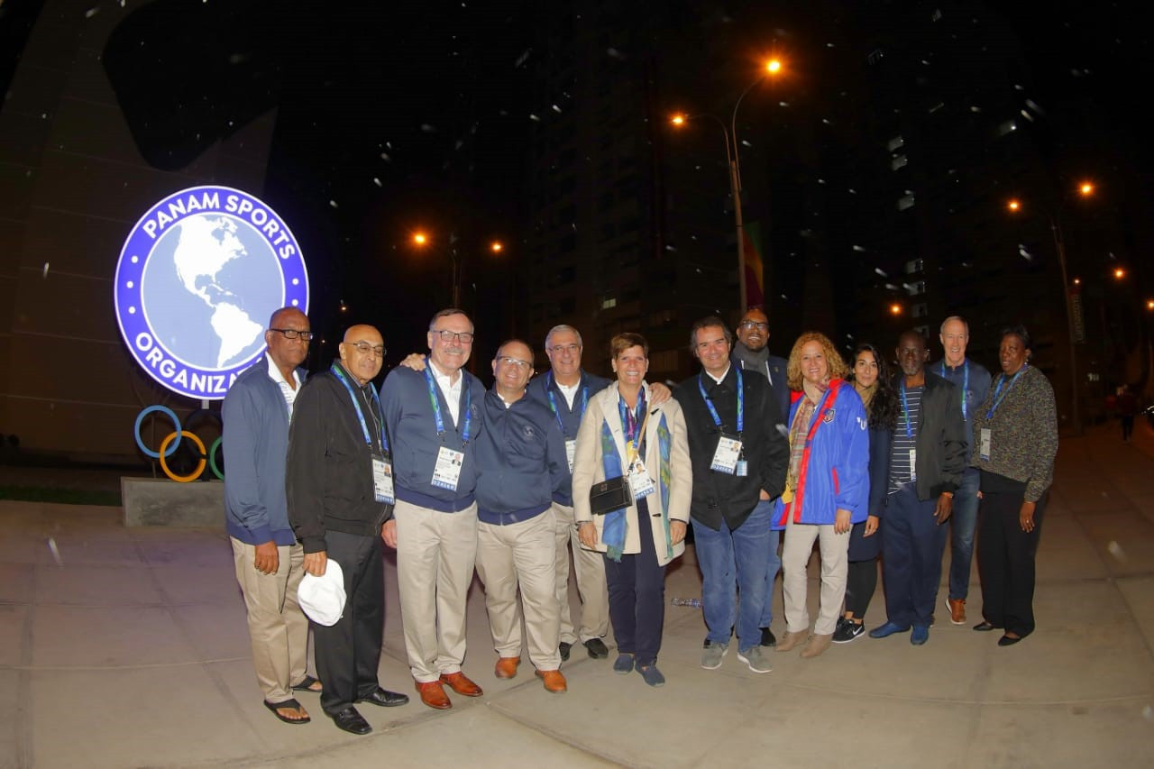 The Panam Sports Executive Committee stayed at the Lima 2019 Village ©Lima 2019