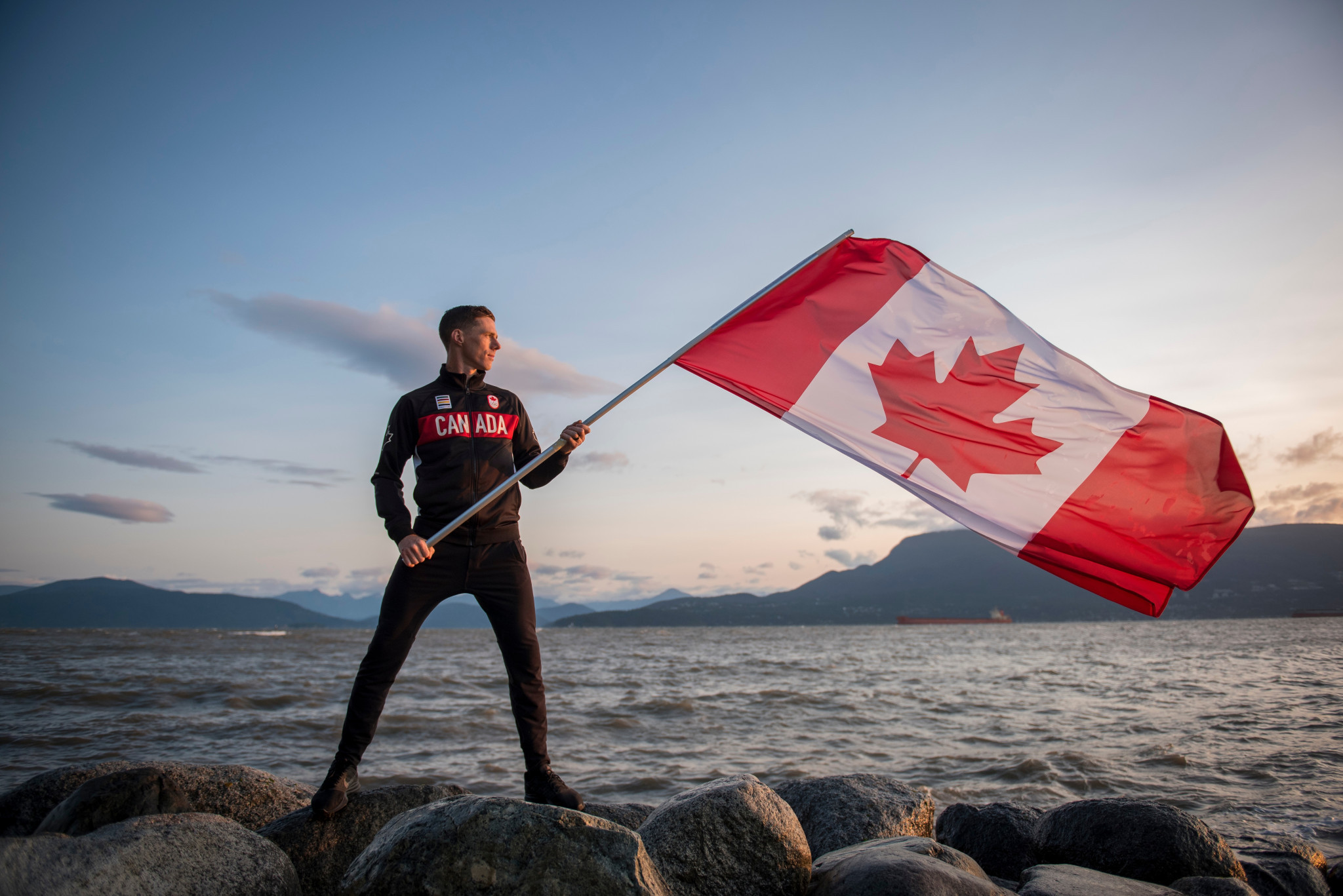 Scott Tupper will serve as Canada's flagbearer for the Opening Ceremony ©Canadian Olympic Committee/Christopher Morris