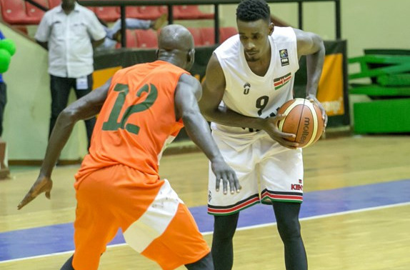 Kenya's Tylor Ongwae has scored the points that have taken his side to the semi-finals of the FIBA AfroCan tournament in Mali ©FIBA