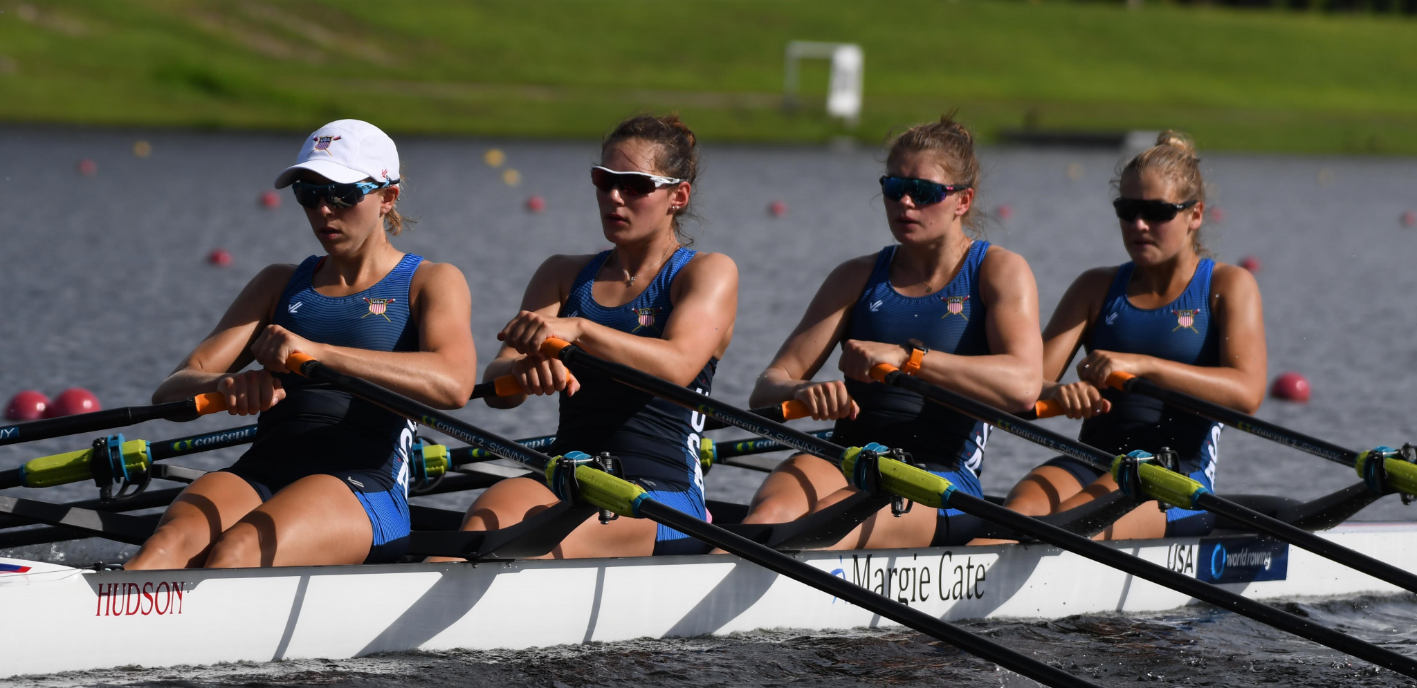 Competition began in Sarasota-Bradenton in humid conditions ©USRowing