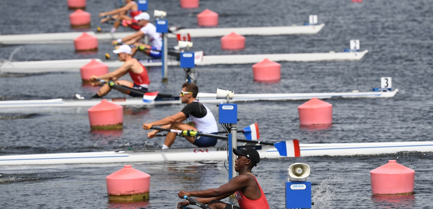 Day one featured a number of heats across the boat classes ©World Rowing