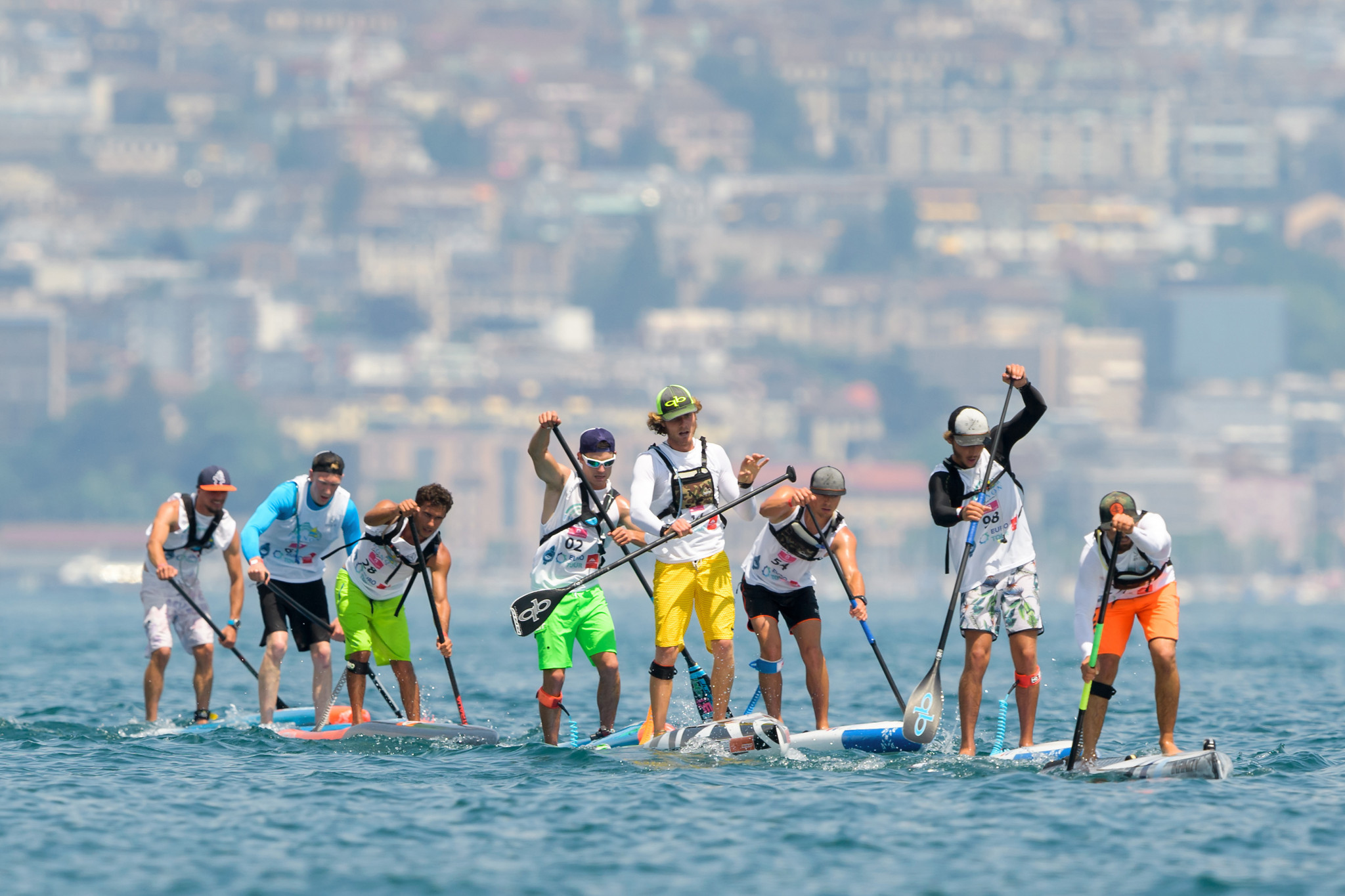 Canoeing and surfing both claim ownership of the SUP discipline ©Getty Images