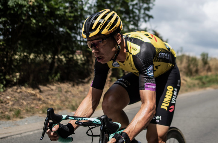 """Tony Martin, road captain of the Jumbo Visma team, has been expelled from the Tour de France along with Team Ineos captain Luke Rowe following a """"spat"""" towards the end of yesterday's stage 17 ©Getty Images"""