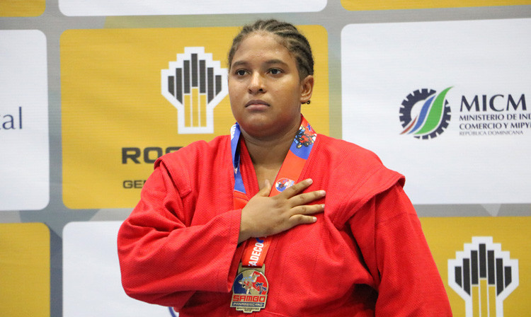 Dominican Republic sambist Ruth Montero has talked up the sport's beach discipline ©FIAS