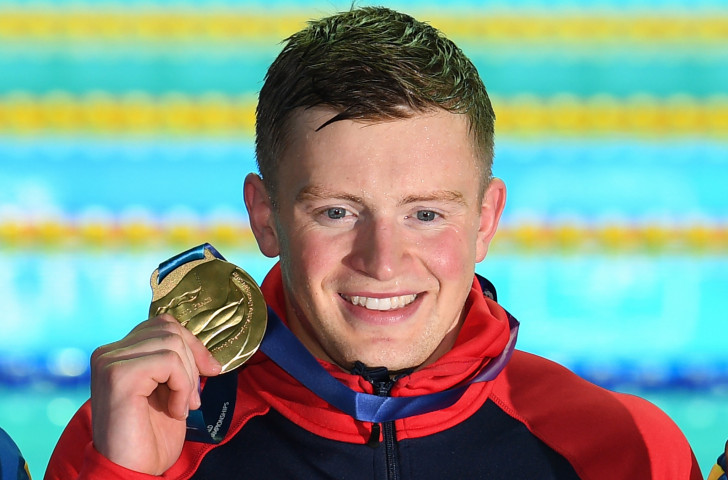 Britain's Adam Peaty, pictured with his second gold at the World Aquatics Championships in Gwangju, has described a FINA ruling restricting athlete protests during medal ceremonies as