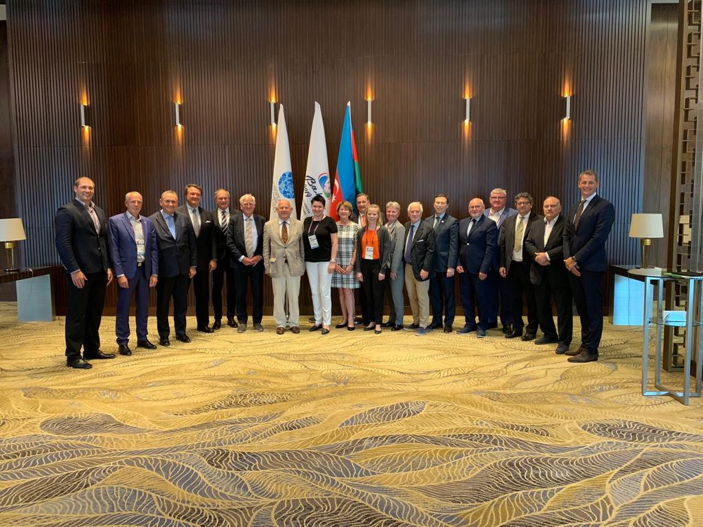 The EOC Executive Committee held its third meeting of 2019 during the European Youth Olympic Festival in Baku ©EOC