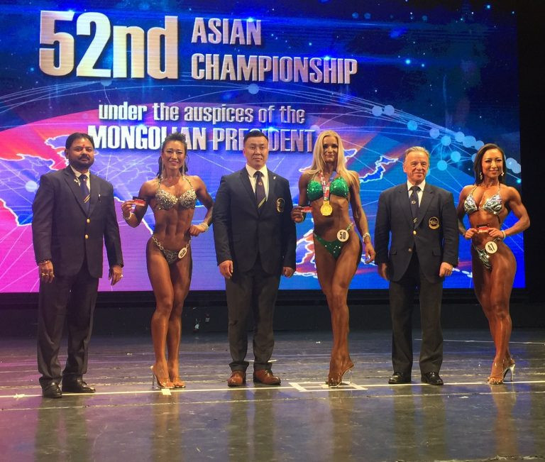 Mongolia's capital Ulaanbaatar hosted last year's edition of the Asian Bodybuilding and Fitness Championships ©IFBB