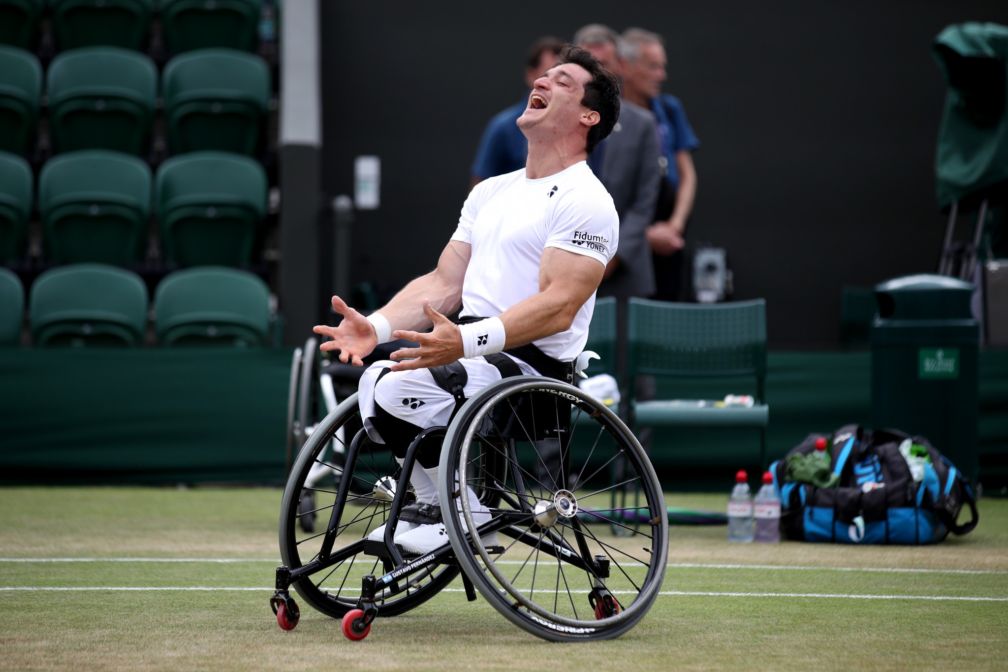 Fernández and Kunieda through to men's singles semi-finals at British Open Wheelchair Tennis Championships