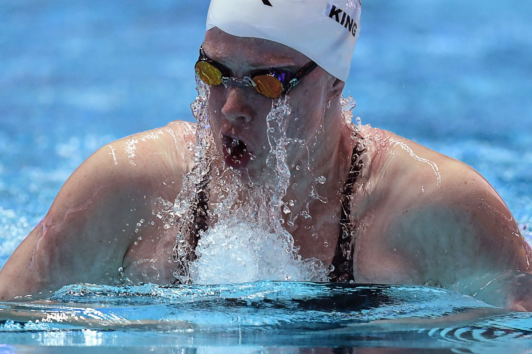 Lilly King saw her hopes dashed by disqualification ©Getty Images