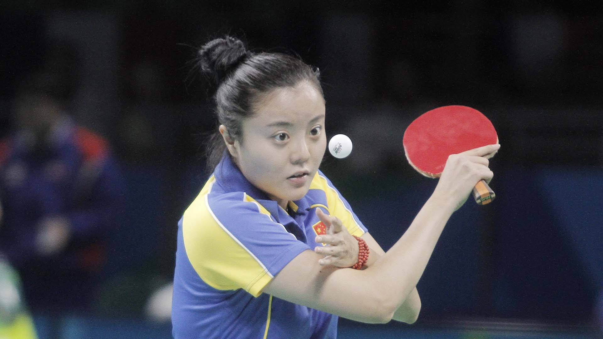Mao Jingdian also tasted gold medal success for the Chinese  ©ITTF