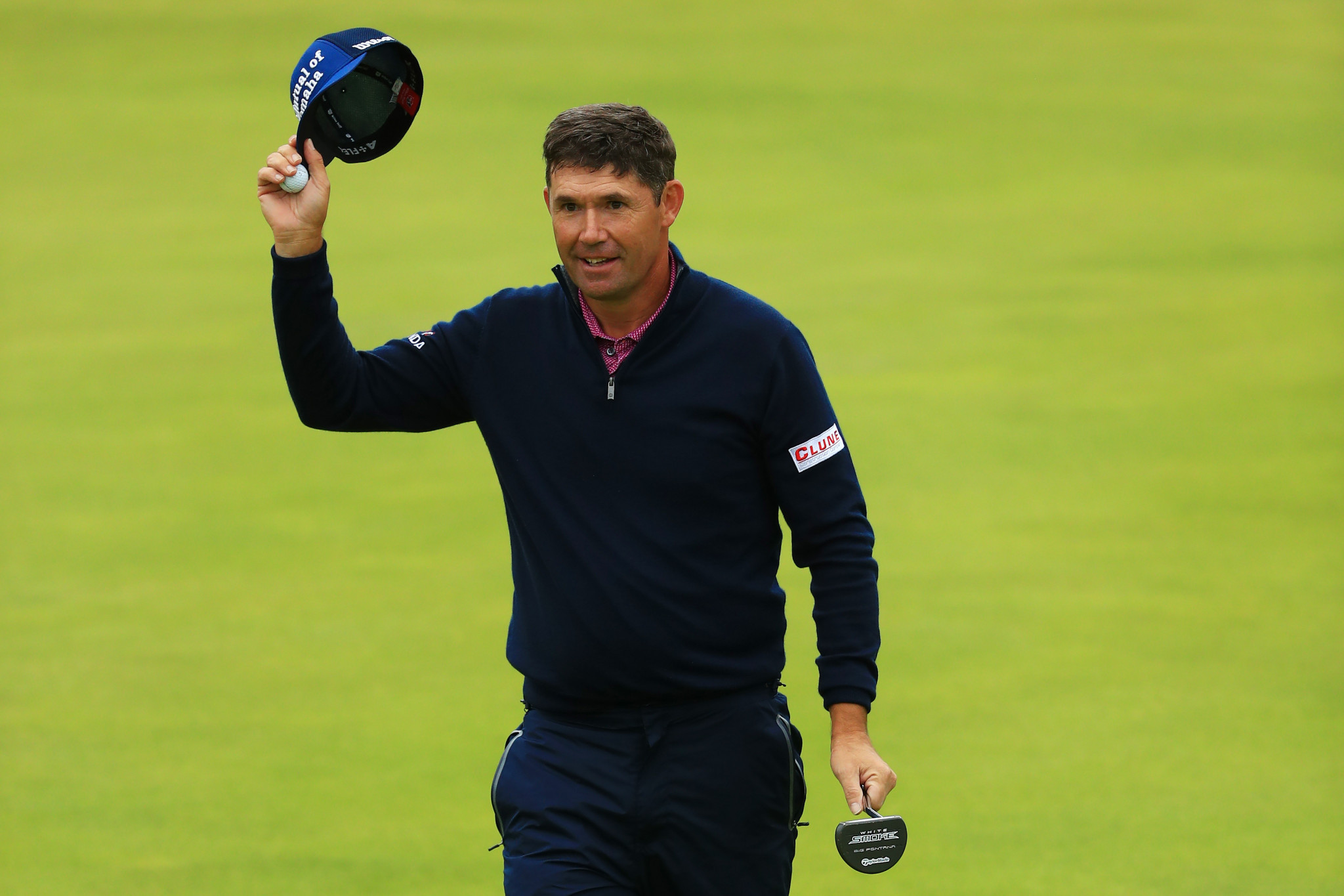 Two-times Open Championship winner Pádraig Harrington was consulted on the design of Adare Manor ©Getty Images