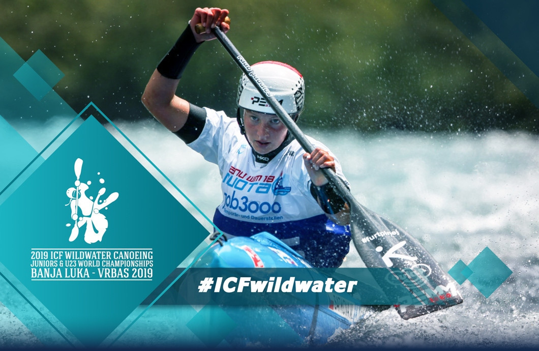 Action began today at the 2019 ICF Junior and Under-23 Wildwater World Championships in Banja Luka ©ICF