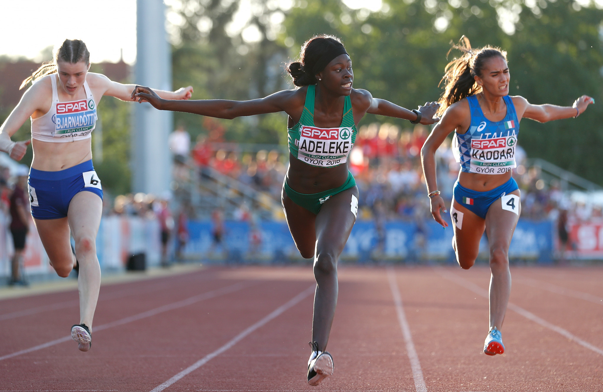 Ireland's Adeleke completes sprint double at Summer European Youth Olympic Festival in Baku