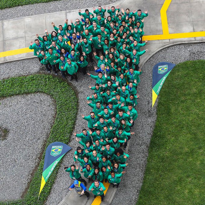 Brazil celebrate one year to go until Tokyo 2020 at Lima 2019 Village