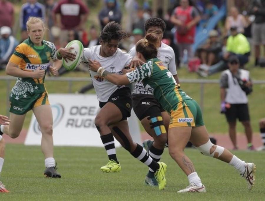 Fiji's women's team earned an impressive win over Samoa to win the women's tournament