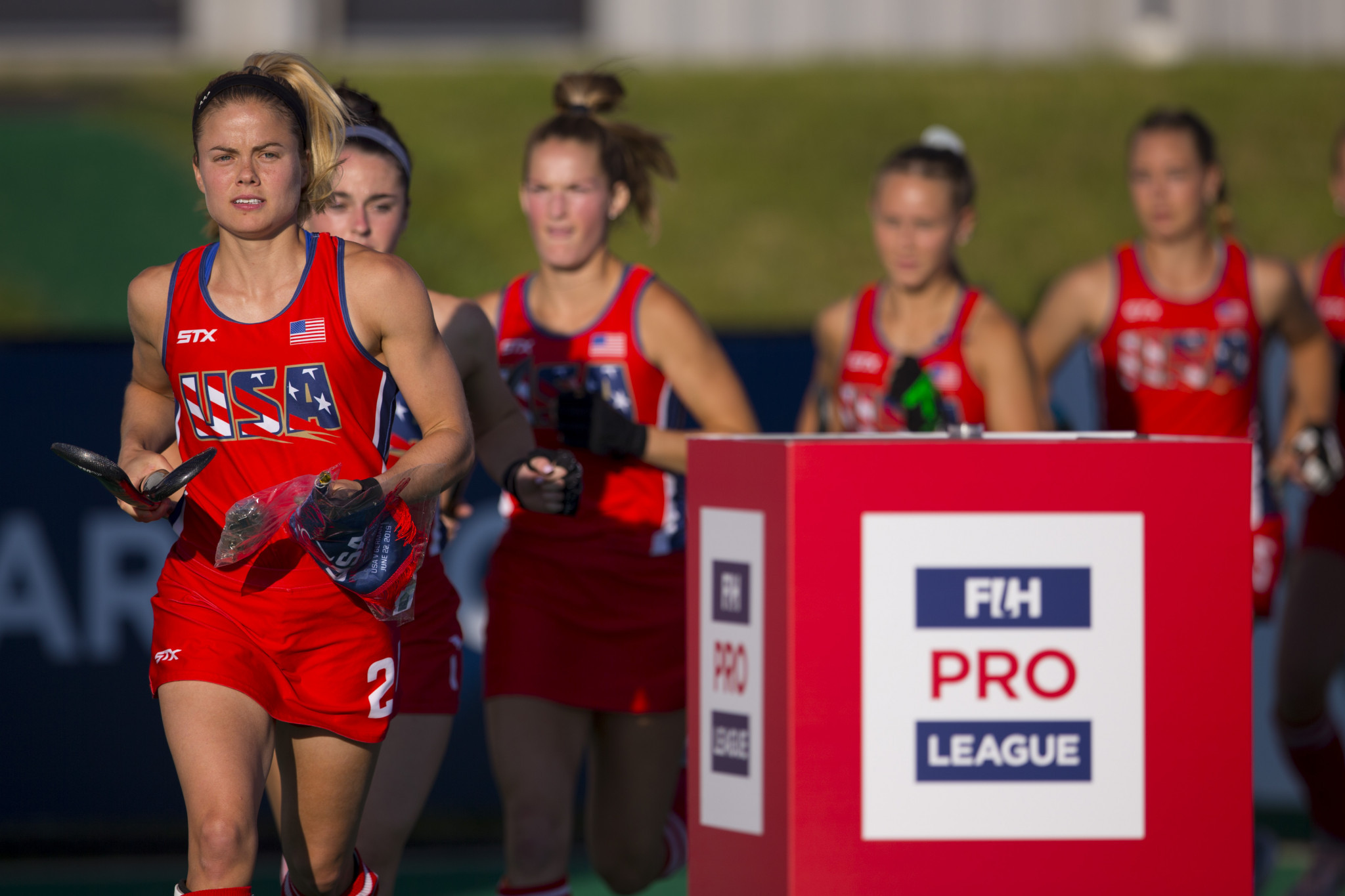 Hockey star Sharkey chosen as United States flagbearer for Lima 2019 Opening Ceremony