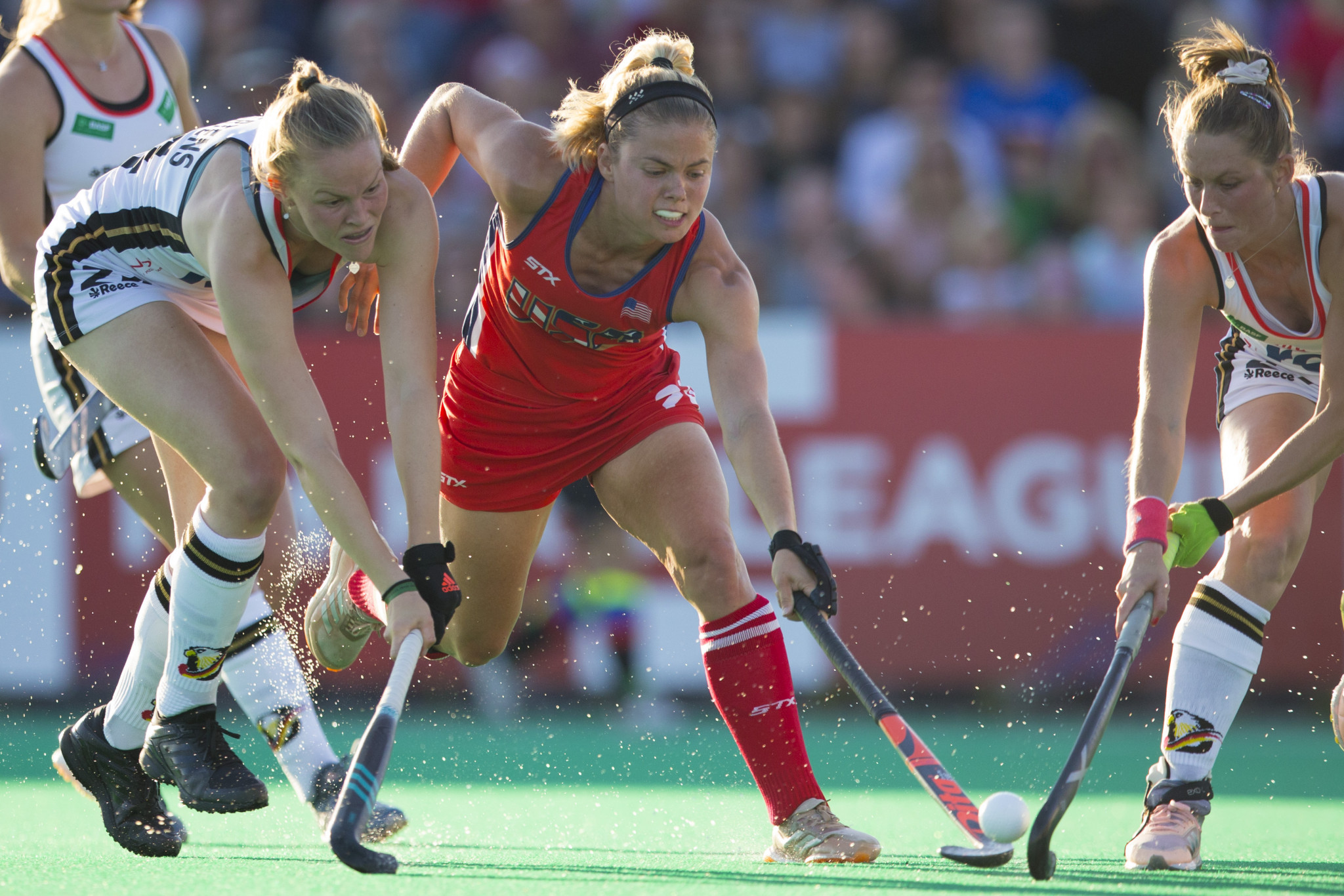 Kathleen Sharkey will look to help the United States win a third straight women's hockey gold ©Getty Images
