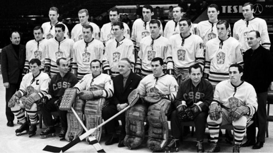 Jan Hrbatý was part of Czechoslovakia's silver medal-winning team at the 1968 Winter Olympic Games in Grenoble ©IIHF