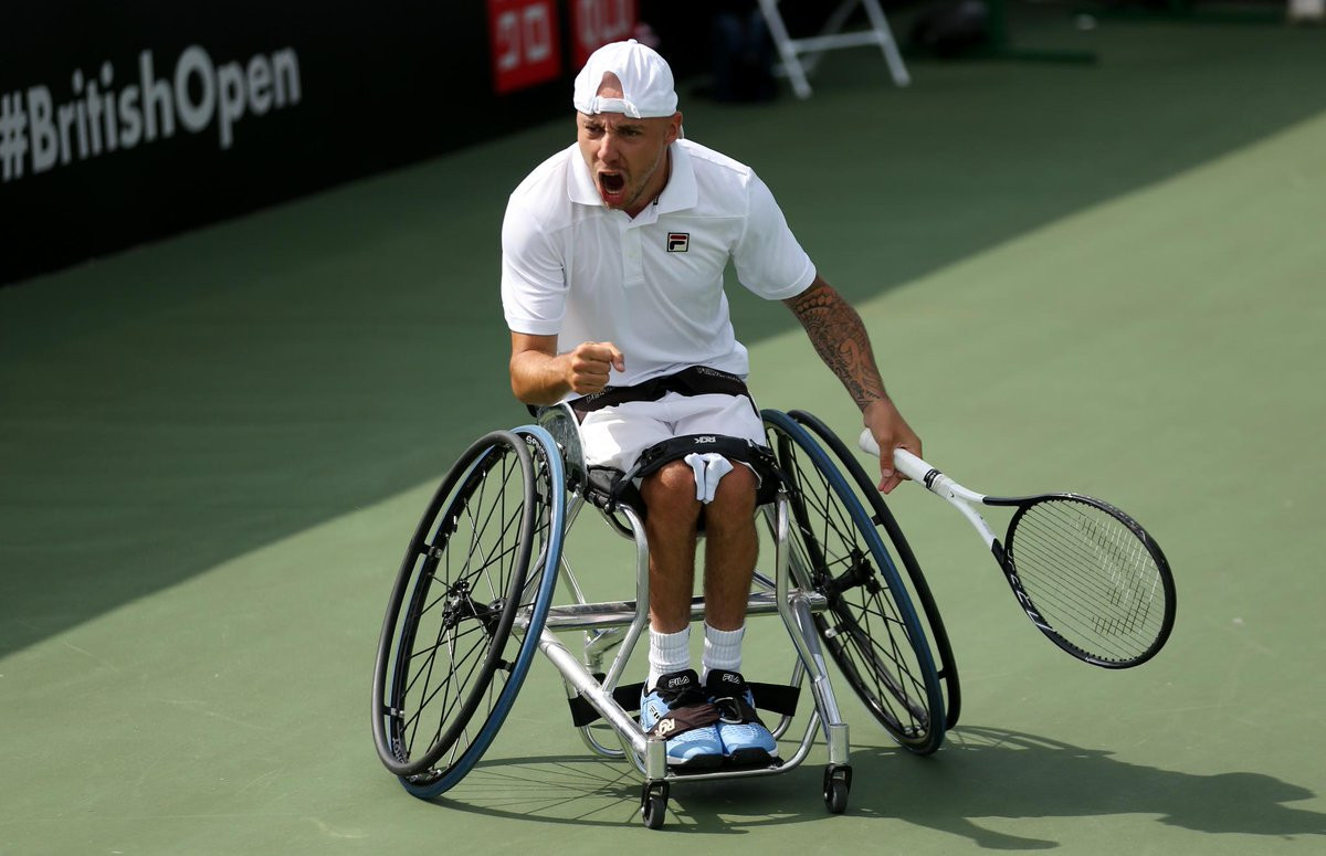 Lapthorne fights back to reach quad singles final at British Open Wheelchair Tennis Championships