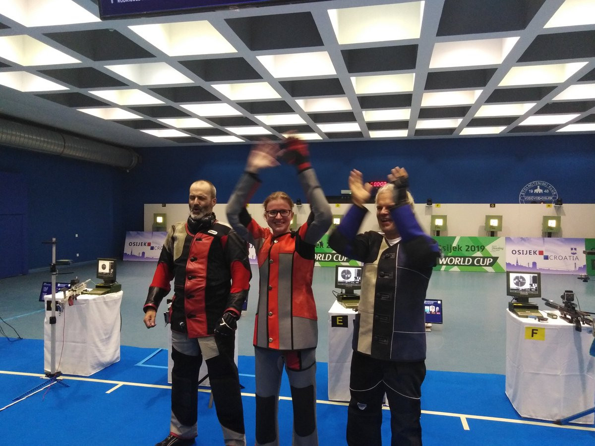 Poland's Moskal sets world record at World Shooting Para Sport World Cup in Osijek