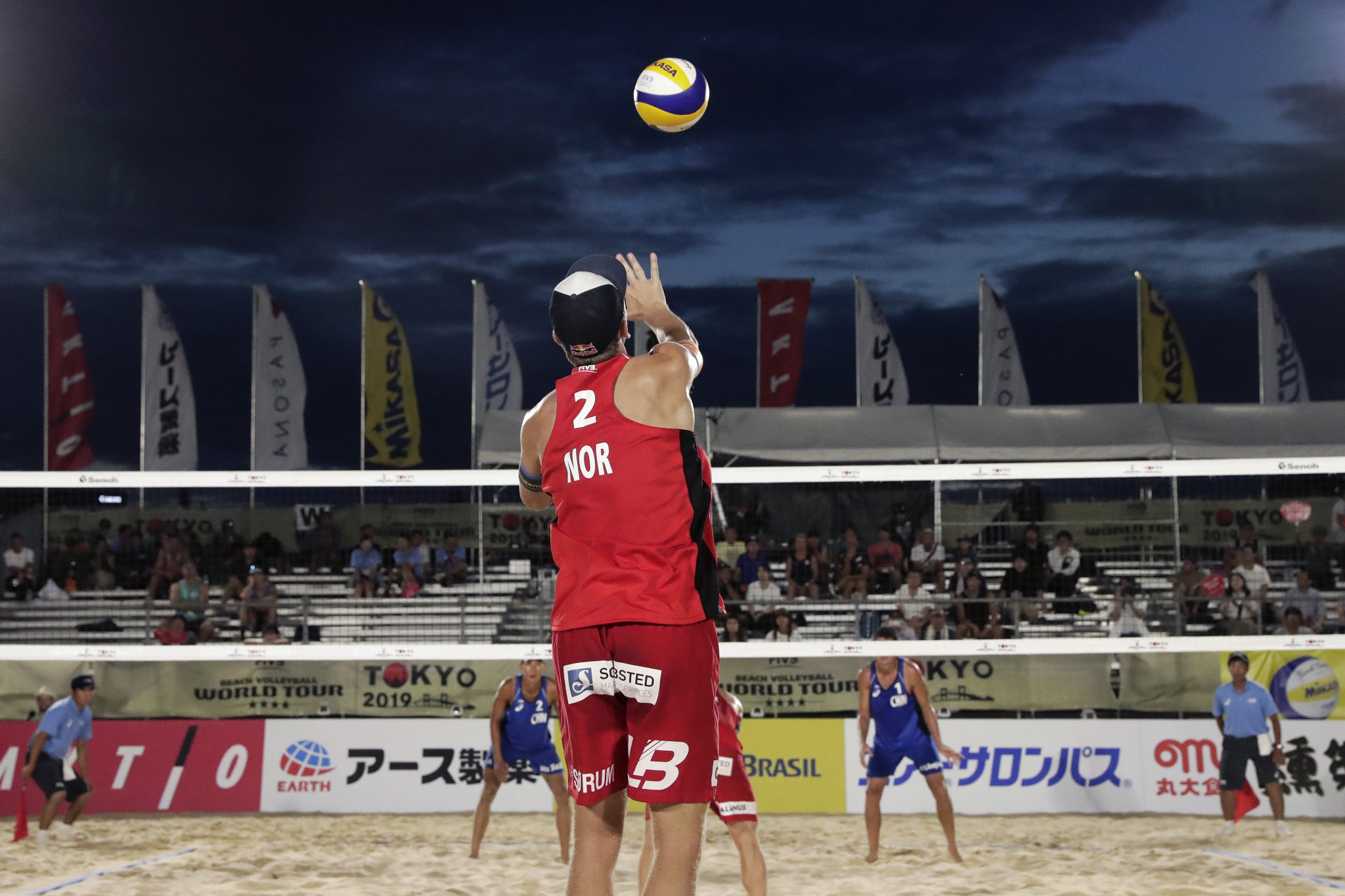 Top men's seeds safely through at FIVB World Tour and Tokyo 2020 test event