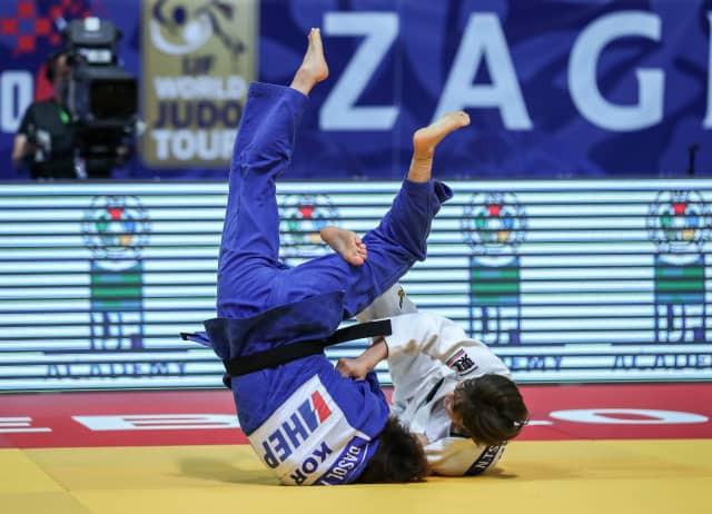 Japan's Natsumi Tsunoda pressed her Tokyo 2020 claims with victory in the under-52kg category at the IJF Grand Prix in Zagreb ©IJF