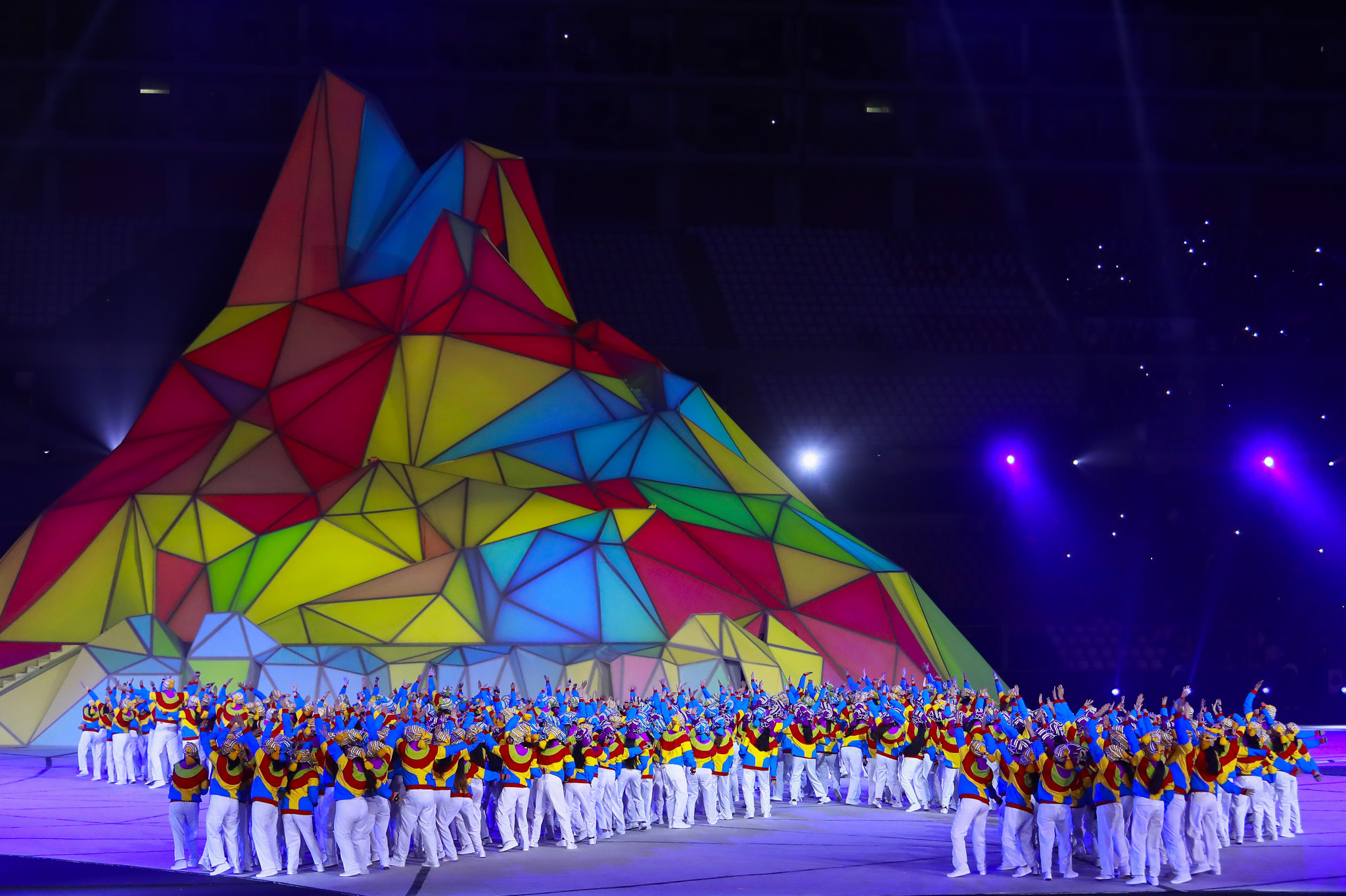 Pan American Games Opening Ceremony lights up Lima