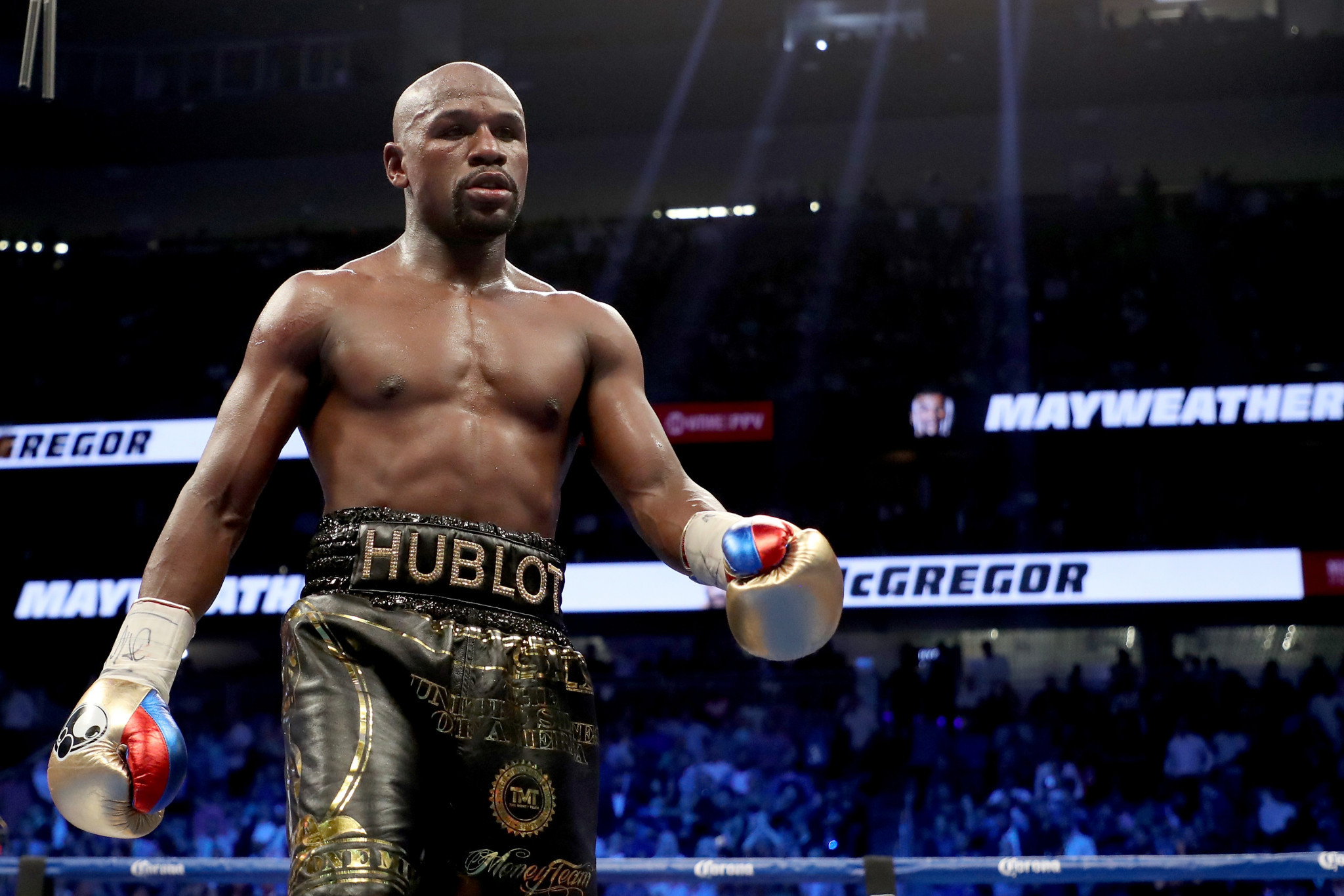Floyd Mayweather has been recruited to work as a special adviser to the Chinese boxing team ©Getty Images