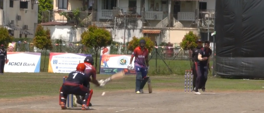 Nepal beat Kuwait by seven wickets to set up a winner-takes-all contest with hosts Singapore at the ICC Men's T20 World Cup Asian Regional Finals Qualifier ©ICC
