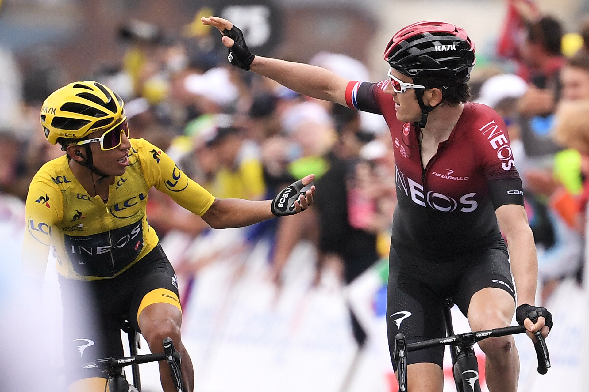 Bernal set to become first Colombian Tour de France winner after retaining lead