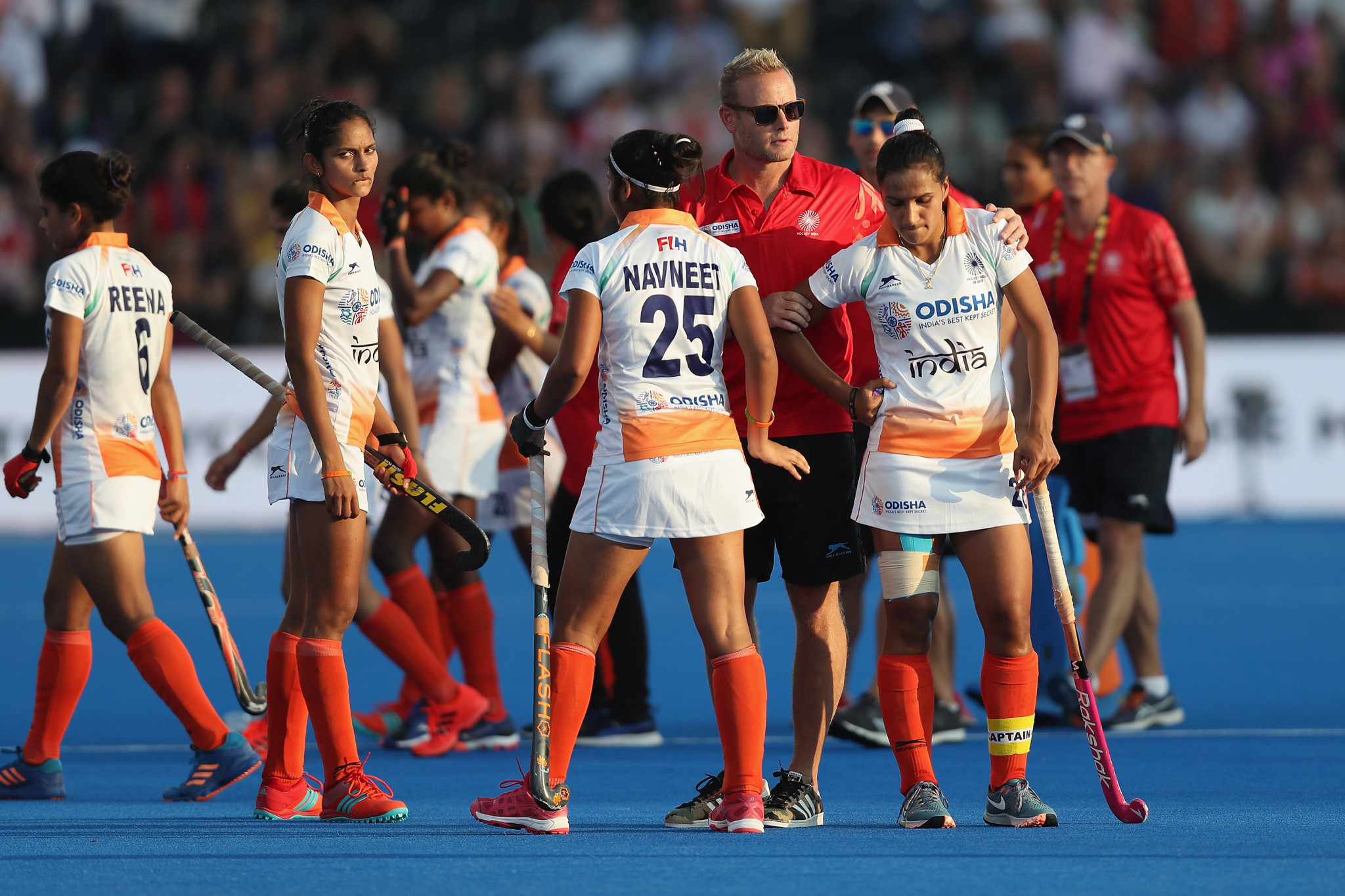 The Indian women's hockey team have been put through their paces in taekwondo sessions ©Getty Images