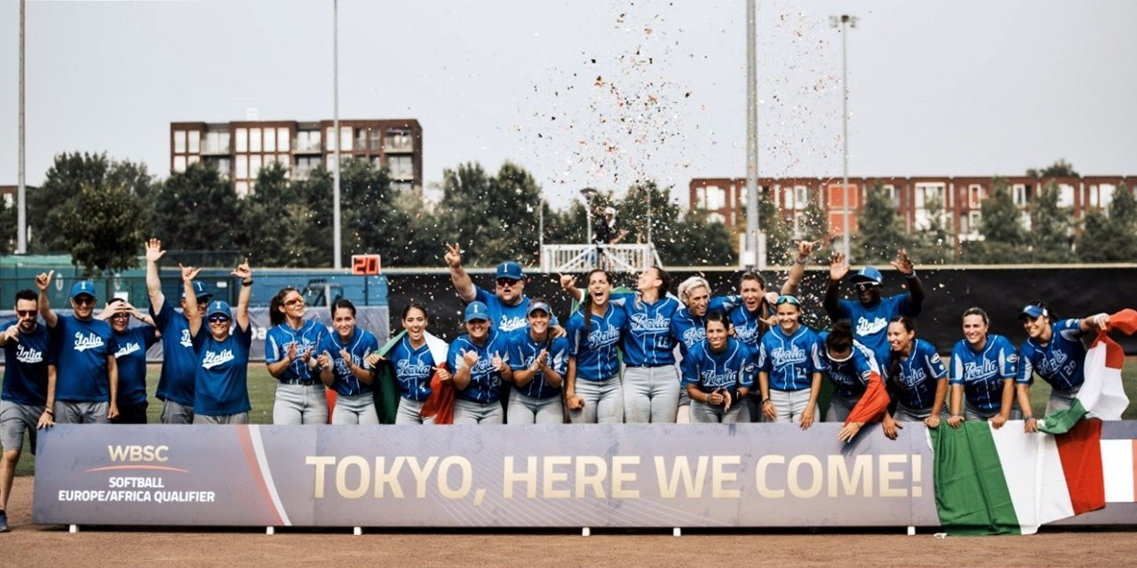 Italy reach Tokyo 2020 Olympics by beating Britain in final of Softball Europe/Africa Qualifier