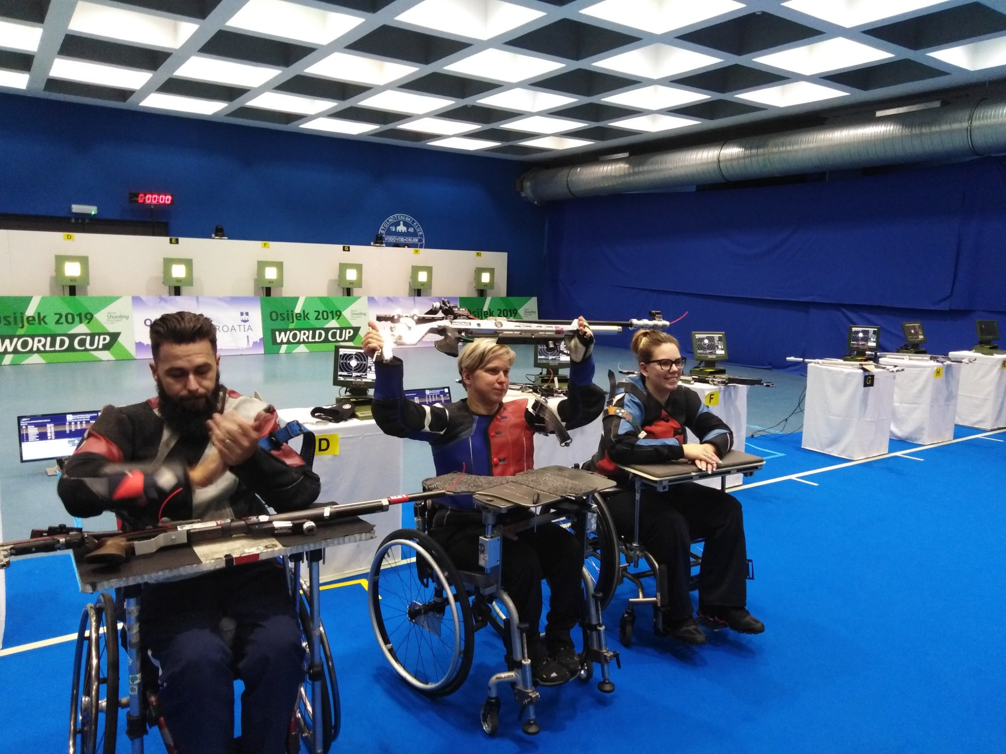 Vadovičová strikes gold at World Shooting Para Sport World Cup