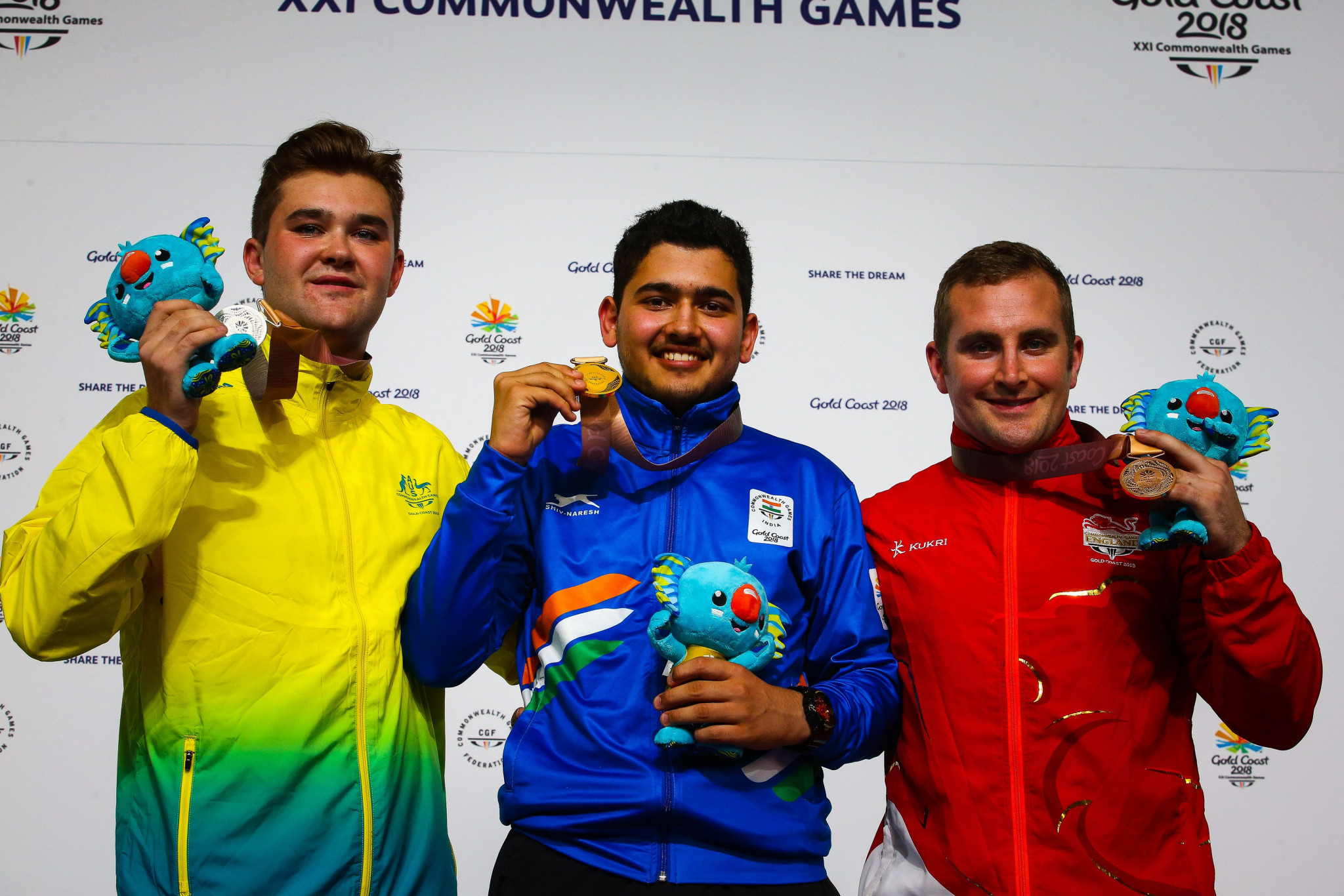 India topped the shooting standings at the 2018 Commonwealth Games in Gold Coast ©Getty Images