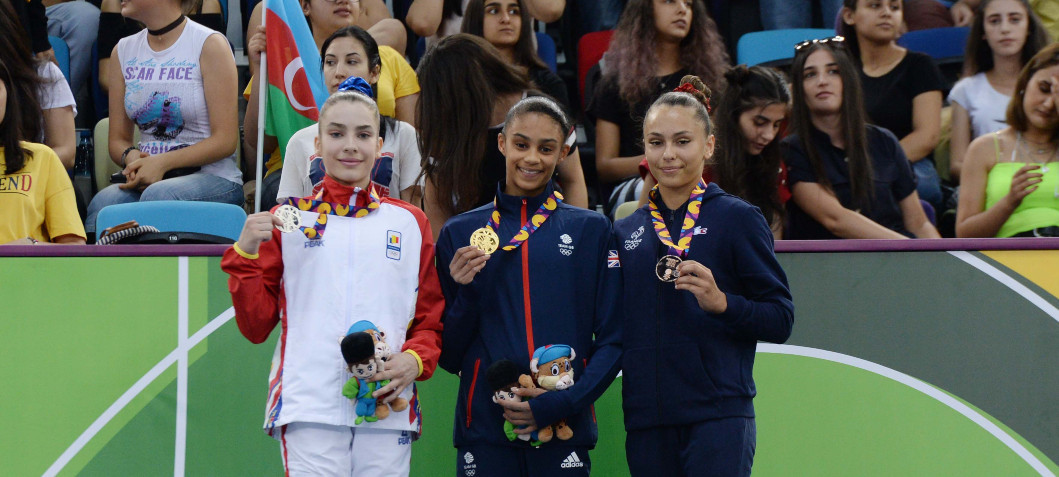 Russia top medals table at EYOF in Baku as three golds lift Britain to second