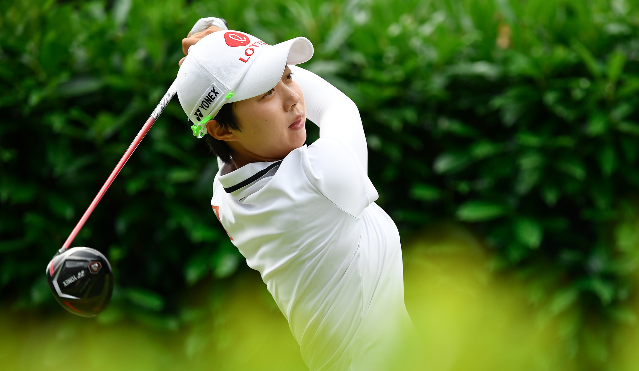 Kim and world number one Park tighten Korean grip on Evian Championship